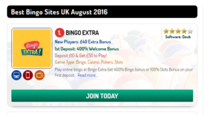 What are the top free Crazy Bingo Sites?