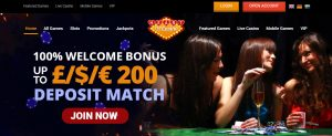 Heart of Casino First Deposit Bonus
